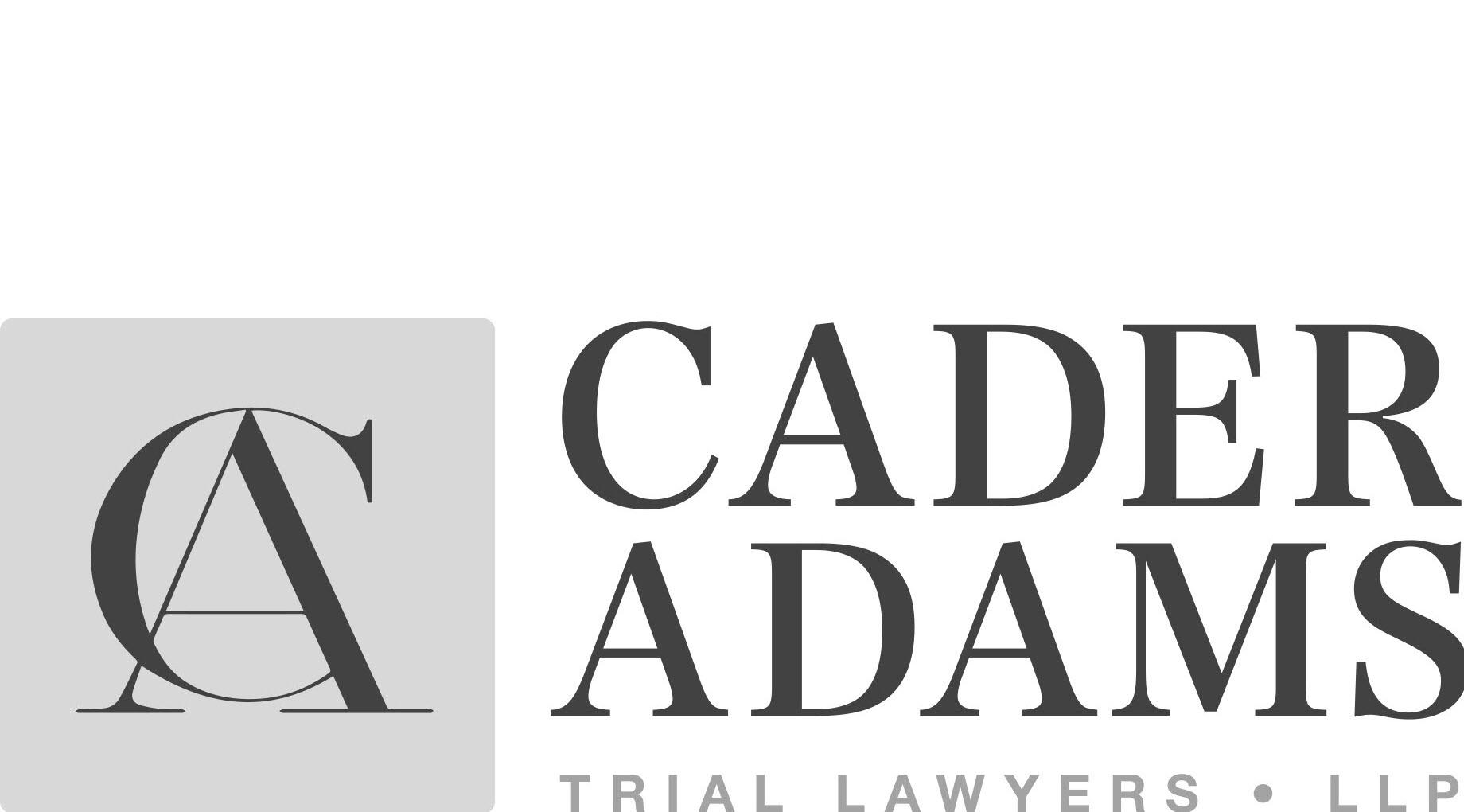Cader Adams Trial Lawyers